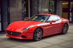 Ferrari California (kareszzz) Tags: california red car spring hungary budapest ferrari photowalk april niceride sportcar 2016 ferraricalifornia nex3 sonynex3