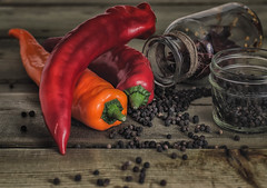 sweet&spicy (Vanili11) Tags: food sweet spicy red stilllife nikcollection vegetable 3 three