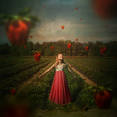 Strawberry fields forever. (Ladymika24) Tags: art photography strawberry fineart