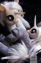 Lance & Silvermoon (Craia) Tags: cute art animal fur stuffed doll artist handmade manga artificial plush dreams kawaii unicorn poseable craia