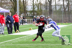 "GFL Juniors Dortmund Giants vs. Düsseldorf Panthers 09.04.2016 013.jpg • <a style=""font-size:0.8em;"" href=""http://www.flickr.com/photos/64442770@N03/26238310822/"" target=""_blank"">View on Flickr</a>"