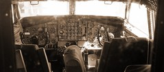 Old School (vadim.zhuravskiy) Tags: blackwhite aircraft aviation boeing 707 avia boeing707
