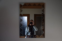 Preparing. (FOTO.Michaela) Tags: show woman selfportrait me girl wall photography mirror nikon republic autoportrait czech photos april camer yourself photographing preparing ostrava 2016 takeing i yoou d5300