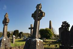 ballinasloe_141 (HomicidalSociopath) Tags: ireland cemetery architecture spring nikon crosses april ballinasloe d60