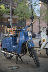 Berlin Schwalbe (dr1vebysh00t) Tags: berlin scooter ddr gdr simson schwalbe 2016