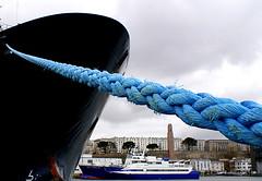 hawser (patrick_milan) Tags: sea mer port boat brittany ship bretagne brest bateau bourbon abeille finistre hawser