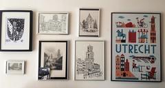 Utrecht Kunst (indigo_jones) Tags: holland art home netherlands dutch wall vintage print utrecht domtoren photos antique kunst decoration nederland thuis localartists ltuziasm