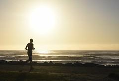 The Golden Mile (M J Adamson) Tags: ocean sunset sea newzealand beach scenic nz tasmansea westcoast hokitika westcoastholiday2016