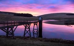 North Esk Reservoir (Photography Revamp) Tags: uk sunset reflection scotland unitedkingdom britain reservoir northeskreservoir