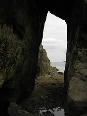 Magical archway (jodietomkins) Tags: beach rocks archway