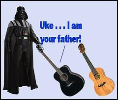 UkeFather6 (FolsomNatural) Tags: ukulele guitar joke luke humor cartoon spoof skywalker