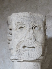 20150324 Isre Vienne - Cloitre Saint Andr le Bas-023 (anhndee) Tags: sculpture france frankreich glise eglise vienne rhonealpes isre