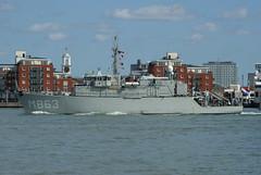 Hnlms Vlaardingen (smashedupbri) Tags: ship harbour portsmouth warship minesweeper mcmv