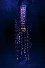 EMD #261 - The man who fell down from the sky (Electrical Movements in the Dark) Tags: longexposure lightpainting lightart emd lapp lightartperformancephotography electricalmovementsinthedark