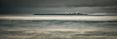 The island (Squareburn) Tags: longexposure blackandwhite lighthouse seascape mono coast northumberland amble coquetisland