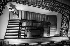 (Laszlo Horvath 1M+ views tx :)) Tags: bw lights nikon budapest steps f18 korridor budapest100 nikond7100 sigma1835mmf18art