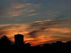 Cu de fogo. (ndreia) Tags: sunset sky portugal cu prdosol 2016 pvoadevarzim sonydschx200v