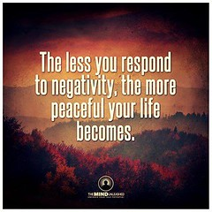 Contribute to the positivity in this world simply by not participating in the negativity. (Holistic Beginnings Health Coaching) Tags: natural health wellness naturalife