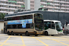 Kowloon Motor Bus AVBWU222 RD9278 (Howard_Pulling) Tags: china hk bus buses hongkong photo nikon photos may picture 2016 sarchina d5100