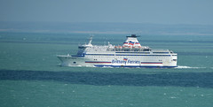 Brittany ferries 1 (Lee1885) Tags: sea france water ferry nikon ship jersey channelisland d7100