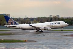N179UA (jzapf21) Tags: aircraft airplanes boeing unitedairlines 747400