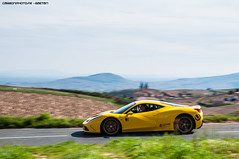 458 Speciale (Gaetan | www.carbonphoto.fr) Tags: auto car yellow speed gold tour great fast automotive ferrari exotic coche incredible luxury supercar speciale 458 hypercar worldcars carbonphoto