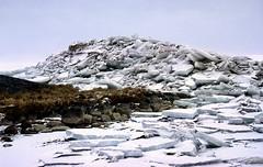 IJsselmeer, ijsschotsen van kruiend ijs, winter 1996 (wally nelemans) Tags: holland 1996 nederland thenetherlands icefloes ijsselmeer ijsschotsen driftingice kruiendijs