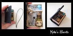 Grimoire secret. Couverture araigne (keikosSecrets) Tags: bjd pullip livre custo sorciere grimoire