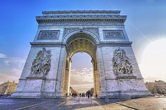 Paris in winter (wiltonkerr) Tags: paris france arc