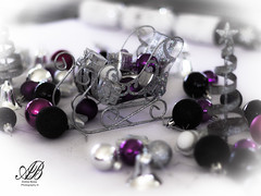 Festive Time (Andrew.Bones) Tags: christmas family decorations white holiday black macro tree love glitter silver festive table lunch 50mm prime carlton day hand purple balls australia presents tasmania held hobart cloth f18 sled 125 2016
