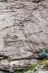 Cajn del Maipo - Valles las Arenas (65) (lxrdrg) Tags: climbing montaa escalada cajondelmaipo escaladadeportiva vallelasarenas pareddejabba pareddejabbah