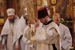 13. Соборное богослужение в Лавре