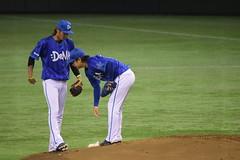 DSC_0410 (Yu_take) Tags: 石川雄洋 横浜denaベイスターズ 三嶋一輝