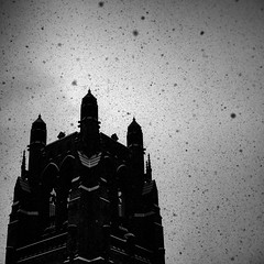 doomsday (Jerome Olivier) Tags: snow church dark grit apocalypse dust