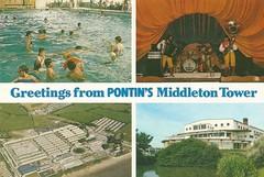 Pontins Middleton Tower Holiday Camp (trainsandstuff) Tags: vintage postcard morecambe pontins holidaycamp middletontower
