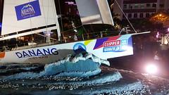 Maving waves (Roving I) Tags: night waves sailing events statues racing vietnam aquafina yachts clipper danang roundtheworld hanriver