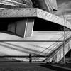 La Villette (Zwitt Erion) Tags: street paris architecture blackwhite îledefrance streetphoto iledefrance lavillette villette noirblanc archi 19éme