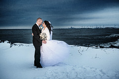 458-Mel-Bri (Michael William Thomas) Tags: blue wedding lake snow newyork cold love photography niagarafalls buffalo photographer lakeerie windy erie westernnewyork wny iloveny weddingphotographer mikethomas weddingphotography buffalonewyork michaelthomas mtphoto buffalowedding michaelwthomas