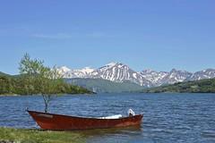 Il Lago di Campotosto e il Gran Sasso (giorgiorodano46) Tags: lake primavera lago spring abruzzo appennino gransasso apennines campotosto maggio2015 giorgiorodano