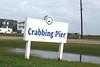 Crabbing Pier Sign (West Beach Sunset) Tags: winter sign eos texas january 2016 surfsidebeach outdoorphotography cd033 bluewaterhighway eosrebelt1i