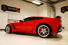 c7_z06_z07_esoteric_332 (Esoteric Auto Detail) Tags: corvette esoteric z06 detailing hre c7 torchred akrapovic p101 suntek z07 gyeon paintprotectionfilm paintcorrection bestlookingcorvette z06images