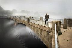 Mr. Wizard (Bown Photo) Tags: ocean park new bridge mist lake classic film look fog vintage mood grove jersey asbury