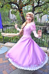 Punzie (l.michellephoto) Tags: photography dress princess disneyland disney twirl performers performer rapunzel flynn tangled disneyprincess ballgown rapunsel disneyparks disneyperformers flynnryder princessrapunzel disneyland60 disney60