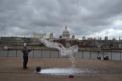 Bubble Man, South Bank, London (curly_em) Tags: london water bubbles southbank riverthames