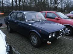 Alfa Romeo Alfetta 1.8 1973 (929V6) Tags: 116 sidecode5 snrb31