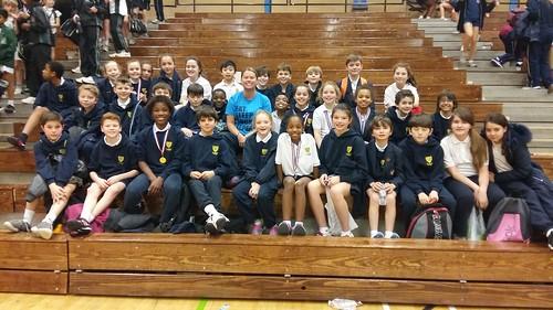 group athletics team