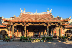 Taiwan-121109-048 (Kelly Cheng) Tags: travel color colour building heritage tourism horizontal architecture temple daylight shrine colorful asia day religion culture taiwan vivid buddhism nobody nopeople colourful 鹿港 lukang longshantemple traveldestinations 龙山寺 northeastasia eastasianculture
