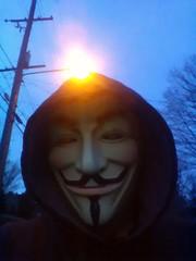 Bonus Pic (1) (PhotoJester40) Tags: male guy me myself outside outdoors mask guyfawkes posing masked