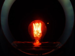 en toen scheen er licht in de duisternis (roberke) Tags: light lamp museum licht nederland eindhoven sfeer bulp