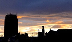 Scouse sunset (Englepip) Tags: sunset silhouette liverpool rooftops cathedral outdoor anglican scouse